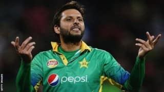 Shahid Afridi steps down as Pakistan captain, offers to continue as player