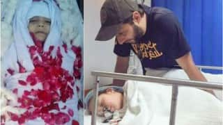 Is Shahid Afridi's daughter dead? Viral images of Asmara will leave you shocked!