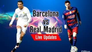 Real beat Barca 2-1 | Barcelona vs Real Madrid El Clasico Live Updates and Score, La Liga 2015-16