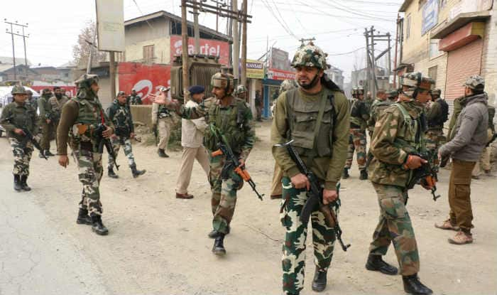 Image result for J&K encounter: Gunbattle underway between security forces and terrorists in Handwara