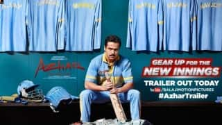 Azhar trailer: Emraan Hashmi as Mohammad Azharuddin is all set to reveal the darkest cricketing secrets (Watch video)