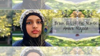 Brown Girl of the Month Amara Majeed Takes Over the World One Media Outlet at a Time