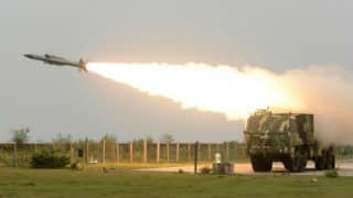 Akash missile test fired successfully for third consecutive day