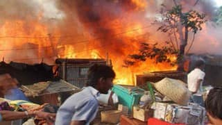 Bihar: 1000 houses gutted, 3 dead after huge fire breaks out in Darbhanga, fire spread to 6 villages