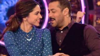 Salman Khan says there is no scene between Deepika Padukone and Ranveer Singh in 'Padmavati'   'पद्मावती' के सपोर्ट में उतरे सलमान खान, फिल्म को लेकर किया खुलासा