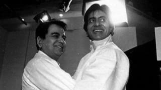 Amitabh Bachchan gets a special message from Dilip Kumar