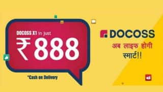 Docoss X1 on docoss.com: Booking for Rs 888 smartphone to end today