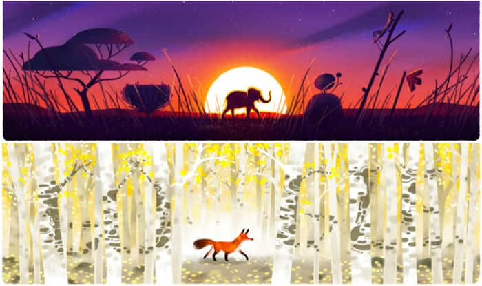 Google Doodle Celebrates Earth Day 2016