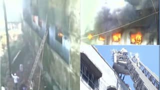 Fire at garment factory, residential building in Bhiwandi: 25 rescued, dozens still trapped, 9 fire tenders at spot