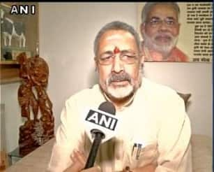 Revoke voting rights of those having more than two kids: Giriraj Singh