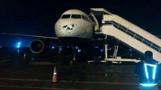 Hailstorm damages Drukair plane, passengers safe