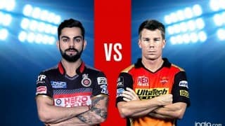 IPL 2016: Royal Challengers Bangalore defeat Sunrisers Hyderabad by 45 runs; A.B. De Villiers declared man of match