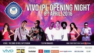 IPL 2016 Opening Ceremony: Katrina Kaif, Jacqueline Fernandez to groove with Chris Brown, Yo Yo Honey Singh and Ranveer Singh at NSCI SVP Stadium!