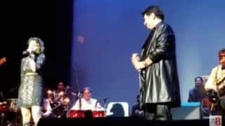 Kumar Sanu, Daughter Shannon Perform Together for the First Time