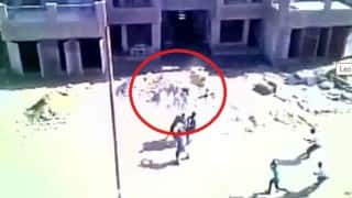 Leopard attack in Meerut caught on camera (Video)