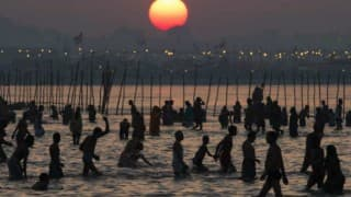 Kumbh Mela 2016: Devotees take holy dip in Shipra River in Ujjain