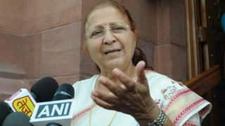 BJP Keeps Her Waiting, Sumitra Mahajan Hints She's Willing to Fight Again