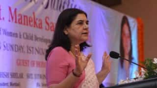 Men do not commit suicide, never heard a single such case, says Union Minister Maneka Gandhi