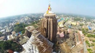 Cracks found in Jagannath temple, restoration work underway