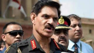 Army chief in Jammu and Kashmir, reviews security situation