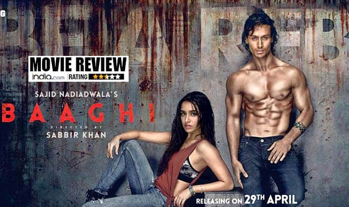 Baaghi movie review: High-end action saves the otherwise dull chemistry of this Tiger Shroff and Shraddha Kapoor starrer