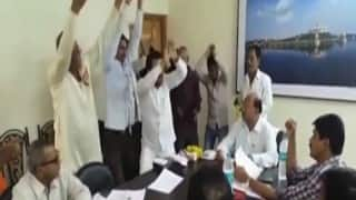 Maharashtra: NCP workers in Buldhana choose 'Gandhigiri' to mark protest, perform 'Nagin Dance' in front of senior officials (Watch video)
