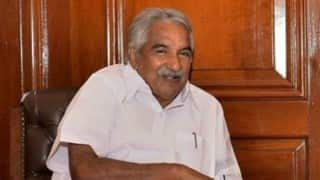Kerala Assembly Elections 2016: Chief Minister Oommen Chandy files nomination papers from Puthupally