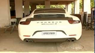 Union Minister's son's Porsche seized by Hyderabad Police