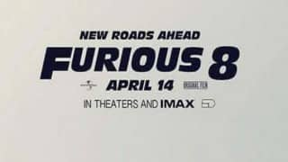 Vin Diesel shares 'Fast & Furious 8' movie poster