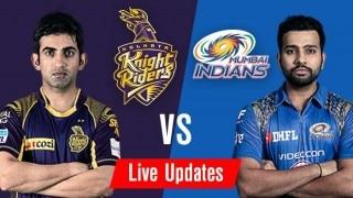 MI win by 6 wickets | Kolkata Knight Riders vs Mumbai Indians Cricket Live Score Updates, IPL 2016 match 5 KKR vs MI