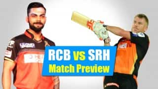 Preview, IPL 2016 Match 4 Royal Challengers Bangalore vs Sunrisers Hyderabad: It is RCB batting versus SRH bowling
