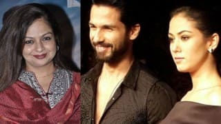 Here's how Shahid Kapoor's mother Neelima Azeem reacts to Mira Rajput's pregnancy!