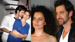 Hrithik Roshan-Kangana Ranaut leaked picture: Was that cozy picture of Krrish 3 stars photoshopped?