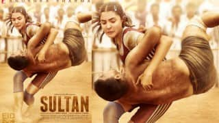Sultan poster: Aarfa aka Anushka Sharma's fierce avatar is impressive!
