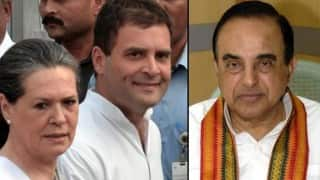 AgustaWestland deal returns to haunt Congress, Gandhi family as Subramanian Swamy set to raise chopper scam in Parliament