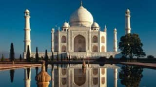 Taj Mahal under attack: 'Winter' insects leave ugly greenish black spots on monument's surface!