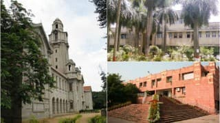 India Rankings 2016: List of India's top 10 universities, engineering colleges, management and pharmaceutical institutes