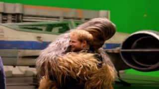 Prince William, Harry visit 'Star Wars' set