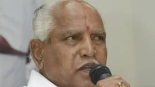 BS Yeddyurappa downplays SUV gift by former industries minister