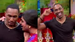 The Kapil Sharma Show: Dwayne Bravo dances to the tune of 'Naino Main Sapna'! (Watch Video!)