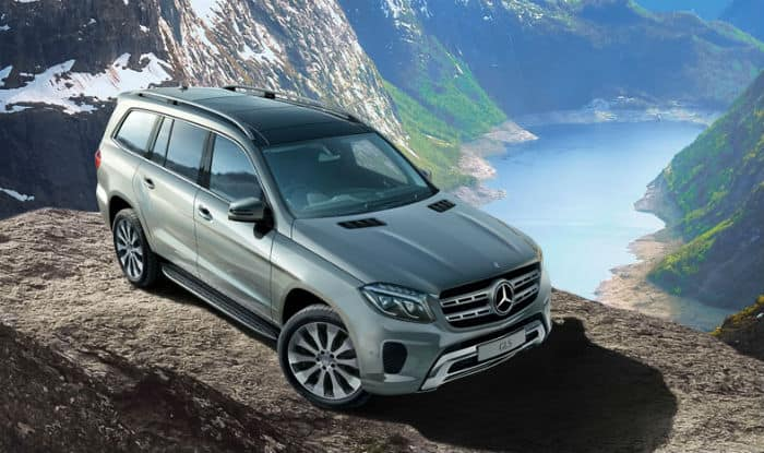 Mercedes benz launches upgraded 7 seater suv gls 350d for Mercedes benz gls 350d price in india