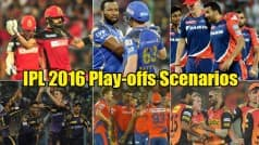 IPL 2016 playoffs qualification scenarios: Here is how teams can qualify for playoffs
