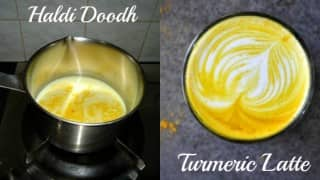 Haldi Doodh too boring for you? Go, grab a 'Turmeric Latte' from your favourite coffee chain!