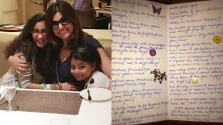 Sushmita Sen's letter to daughter Renee is something we wish every mom wrote her daughter!