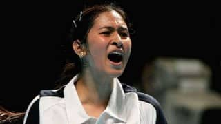 Badminton star Jwala Gutta gets angry on being asked about her relationship with former Indian cricket captain Mohammad Azharuddin