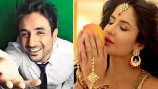 Katrina Kaif drinks mango juice seductively; Vir Das feels Kat is being sexist? (Watch video!)