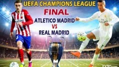 Real Madrid vs Ateltico Madrid, UEFA Champions League Final preview: Even battle on the cards; Cristiano Ronaldo's fitness a concern