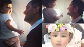 MS Dhoni & baby Ziva's candid pictures will cheer you up!