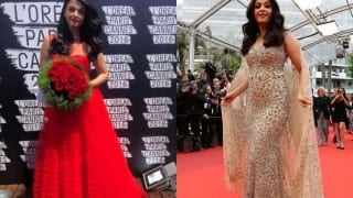 Cannes 2016: Aishwarya Rai Bachchan dazzles better in Gold or in Red? (View pics!)