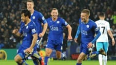 Watch Leicester City players and fans celebrate remarkable EPL win